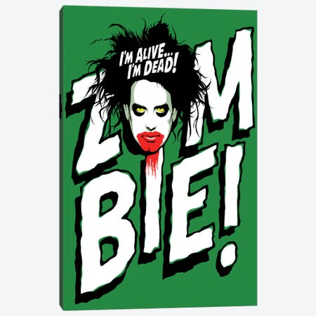 Zombie! Canvas Print #BBY214} by Butcher Billy Canvas Print