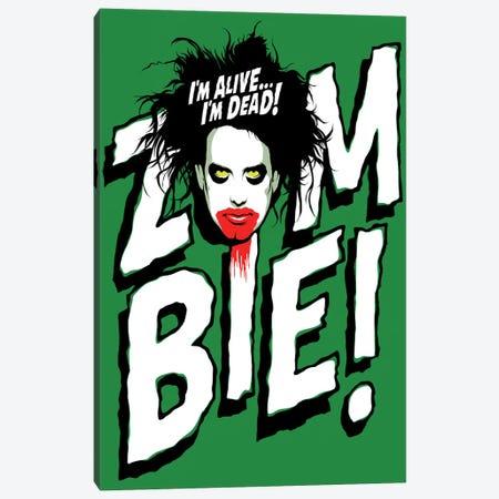 Zombie! Canvas Print #BBY214} by Butcher Billy Canvas Print