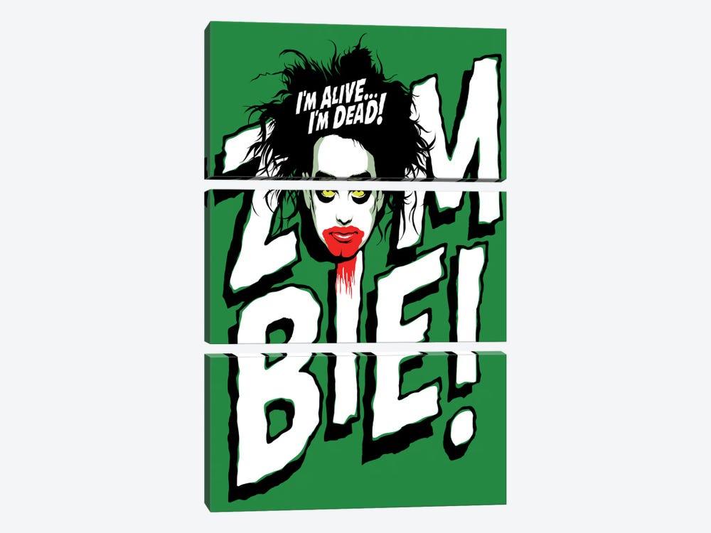 Zombie! by Butcher Billy 3-piece Canvas Art