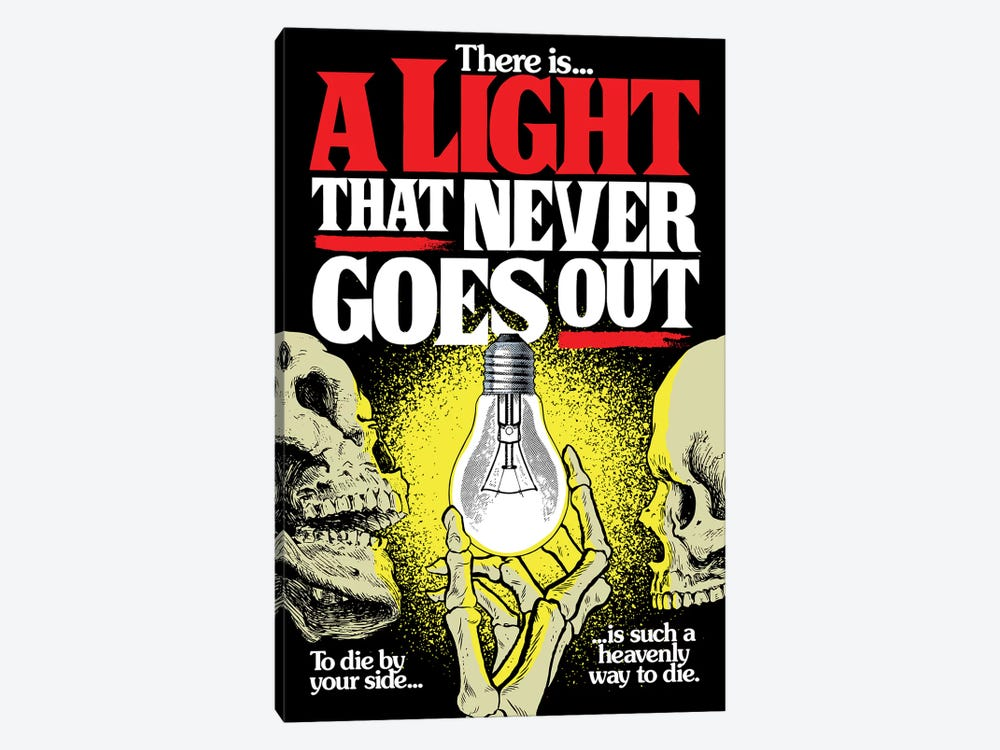 A Light That Never Goes Out by Butcher Billy 1-piece Canvas Print