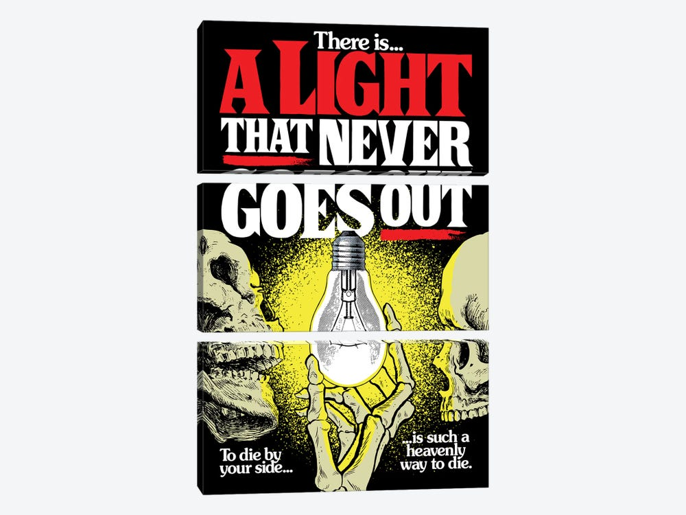 A Light That Never Goes Out by Butcher Billy 3-piece Art Print