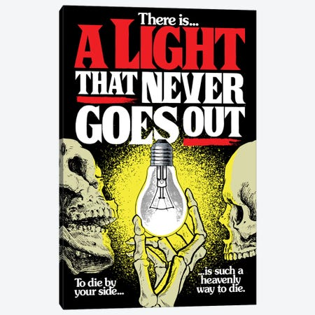 A Light That Never Goes Out Canvas Print #BBY215} by Butcher Billy Art Print