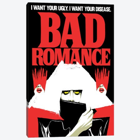 Bad Romance Canvas Print #BBY216} by Butcher Billy Canvas Print