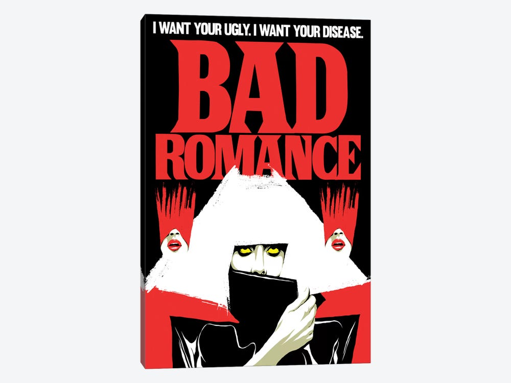 Bad Romance by Butcher Billy 1-piece Canvas Artwork