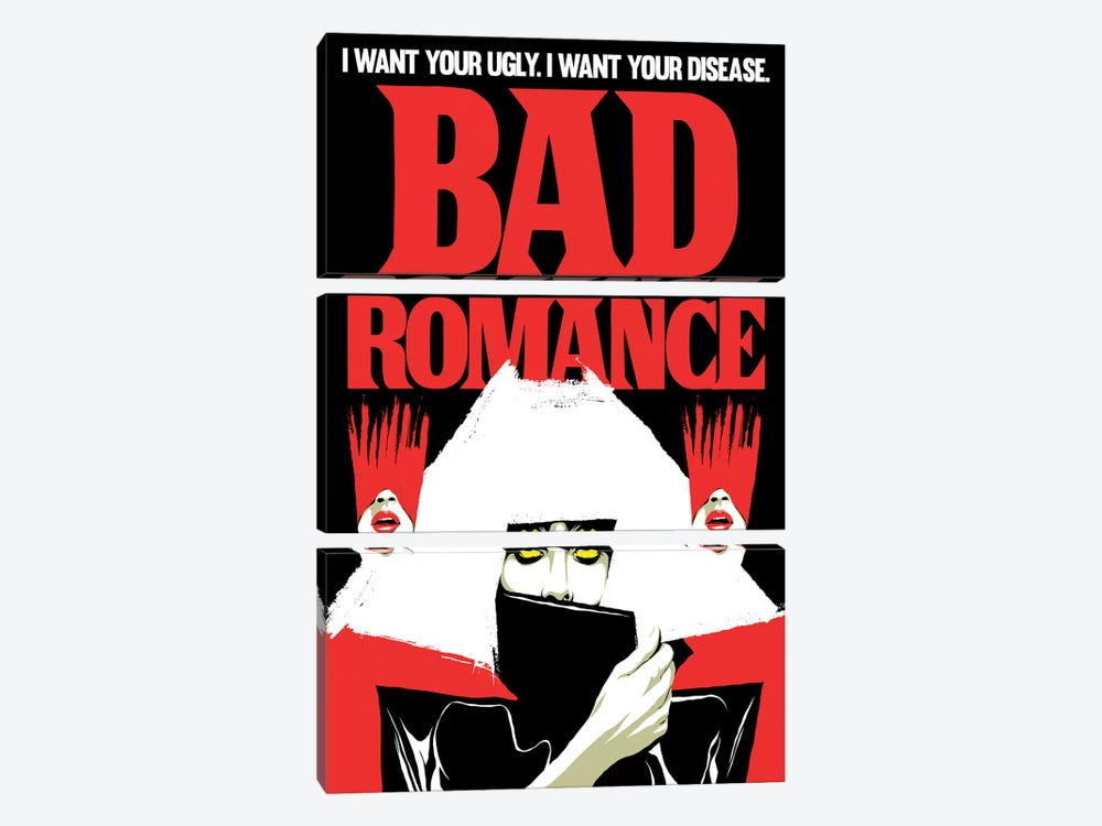 Bad Romance by Butcher Billy 3-piece Canvas Artwork