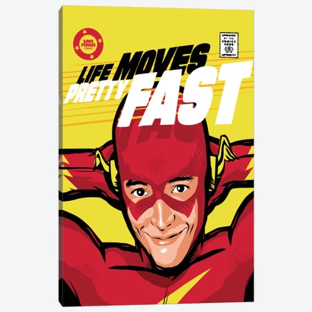 Flash Ferris Canvas Print #BBY21} by Butcher Billy Art Print