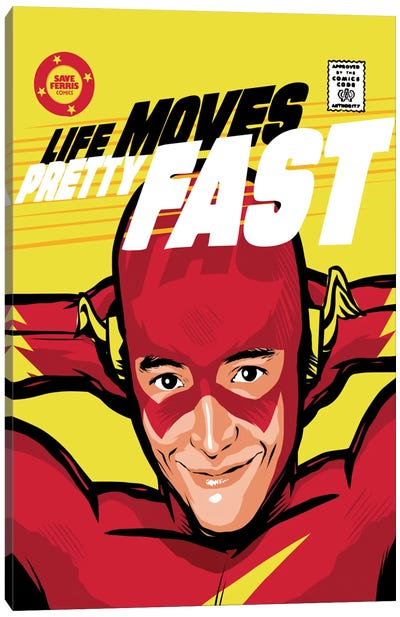 Flash Ferris Canvas Art Print