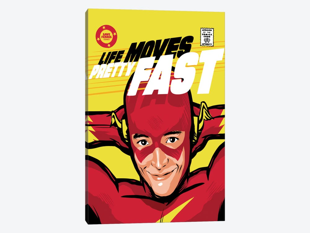 Flash Ferris by Butcher Billy 1-piece Canvas Art