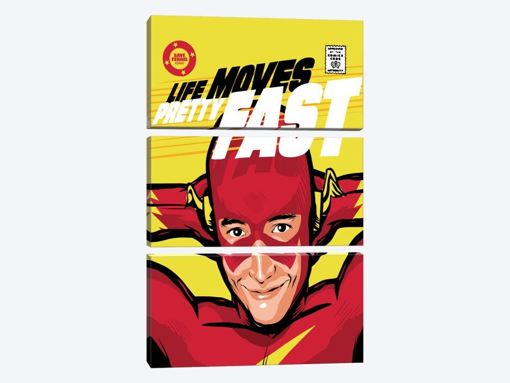 Flash Ferris by Butcher Billy 3-piece Canvas Artwork