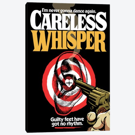 Careless Whisper Canvas Print #BBY224} by Butcher Billy Canvas Artwork