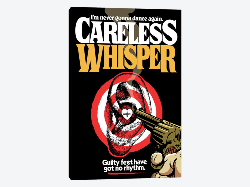 Careless Whisper by Butcher Billy 1-piece Canvas Art Print