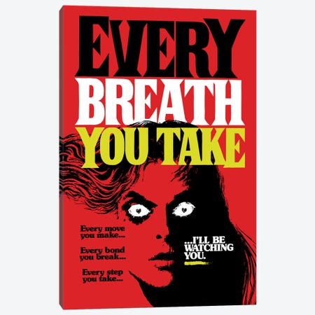Every Breath You Take Canvas Print #BBY225} by Butcher Billy Canvas Artwork