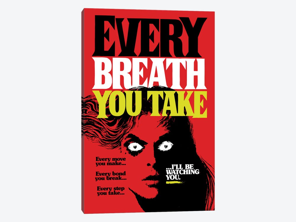 Every Breath You Take by Butcher Billy 1-piece Canvas Artwork