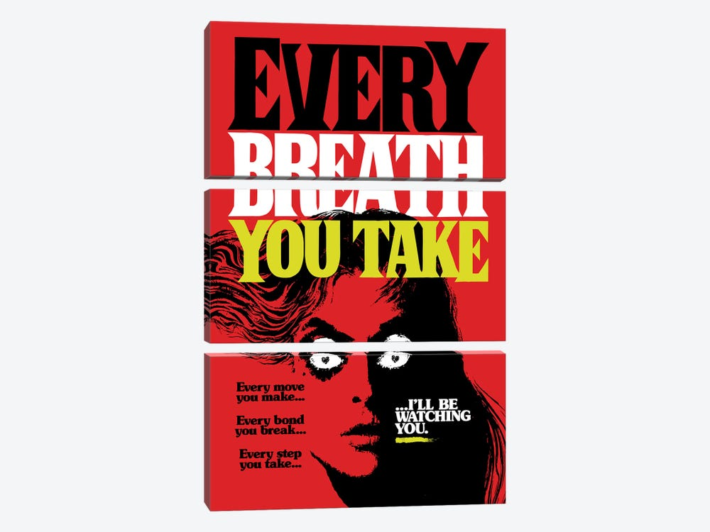 Every Breath You Take by Butcher Billy 3-piece Canvas Art