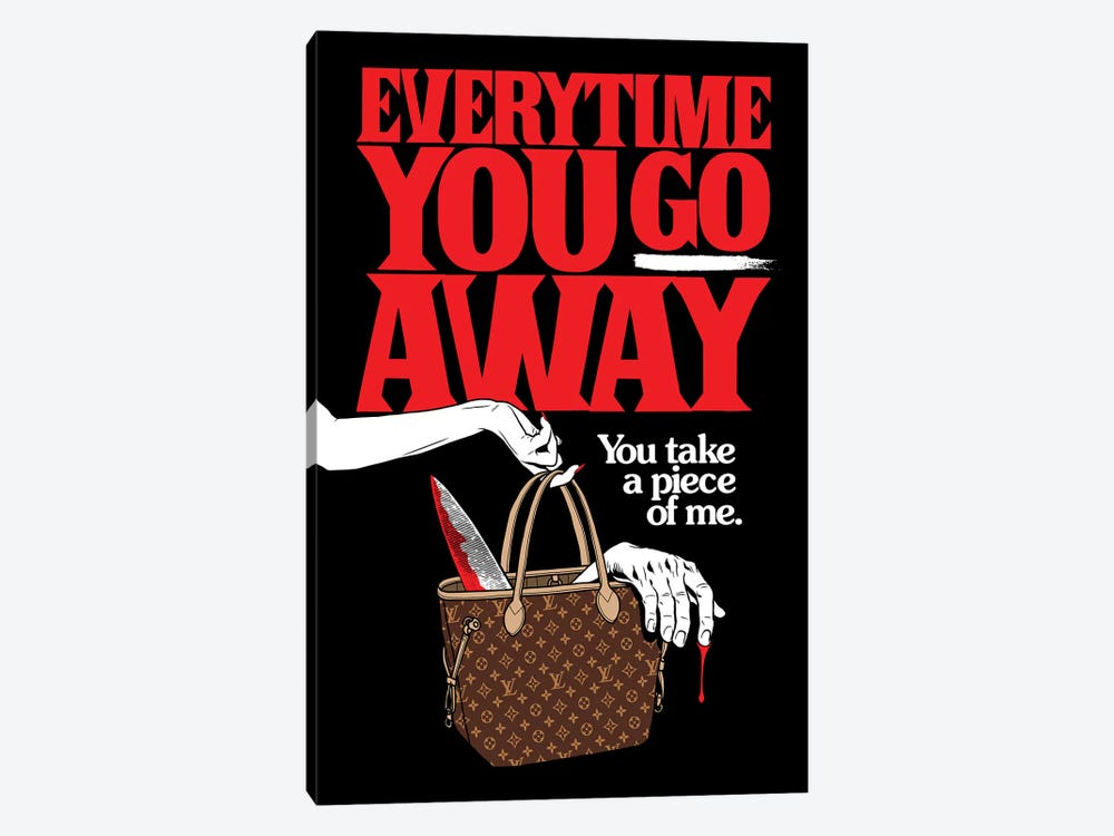 Everytime You Go Away by Butcher Billy 1-piece Canvas Print