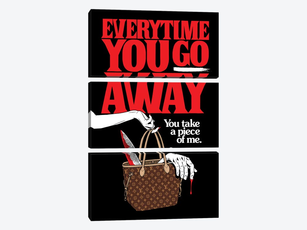 Everytime You Go Away by Butcher Billy 3-piece Art Print