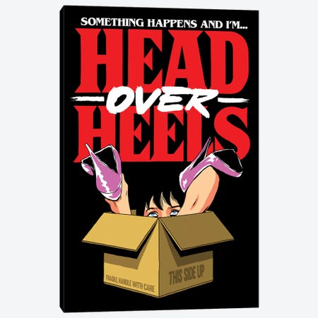 Head Over Heels Canvas Print #BBY228} by Butcher Billy Canvas Print