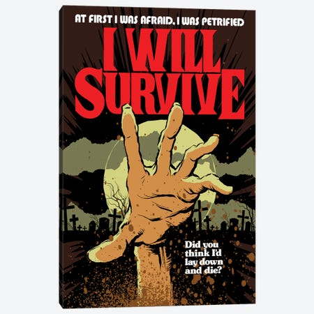 I Will Survive Canvas Print #BBY234} by Butcher Billy Canvas Print