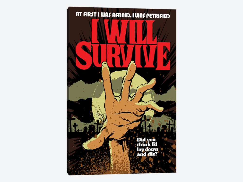 I Will Survive by Butcher Billy 1-piece Canvas Artwork