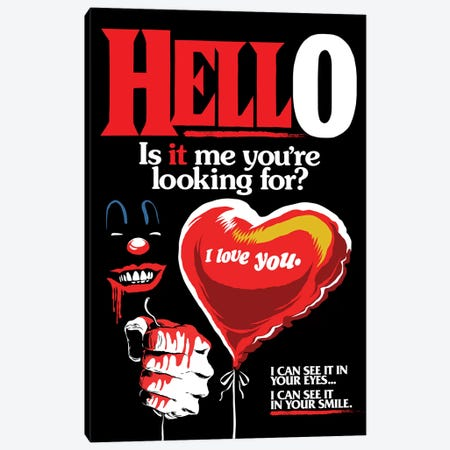 Is It Me You're Looking For? Canvas Print #BBY235} by Butcher Billy Canvas Print