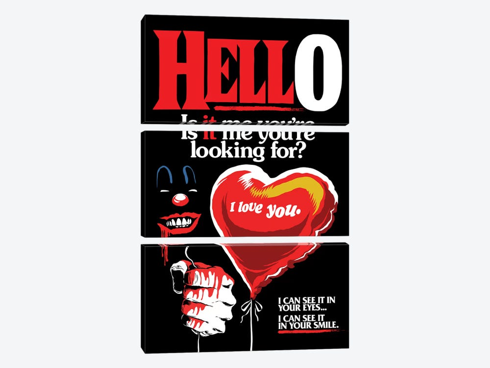 Is It Me You're Looking For? by Butcher Billy 3-piece Art Print