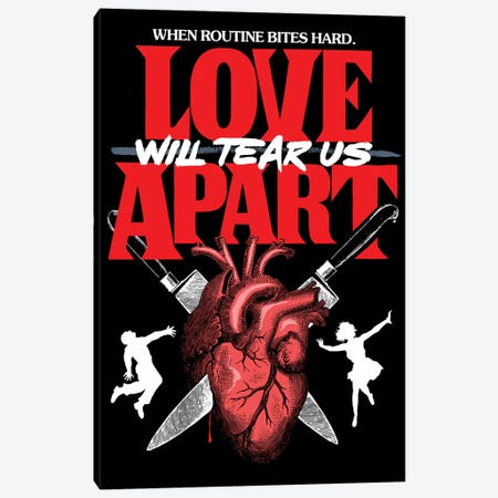 Love Will Tear Us Apart Canvas Print #BBY238} by Butcher Billy Canvas Art