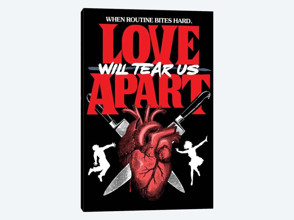 Love Will Tear Us Apart by Butcher Billy 1-piece Canvas Artwork