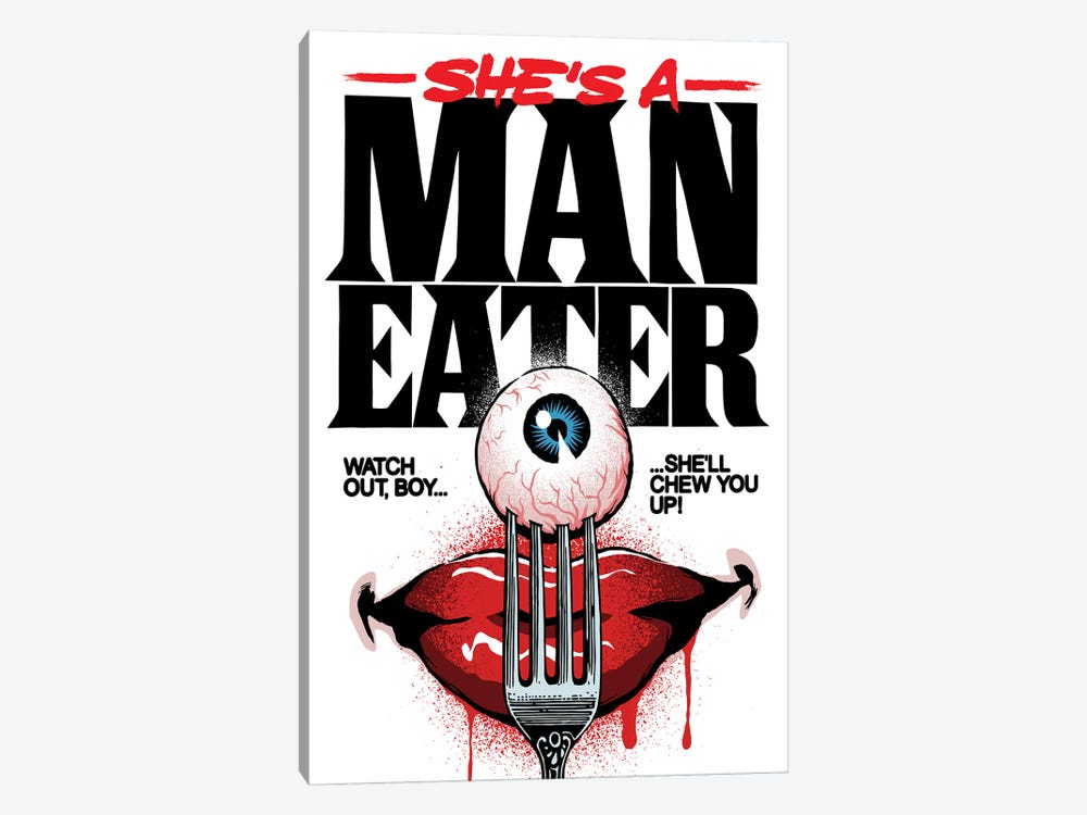 Maneater by Butcher Billy 1-piece Canvas Art Print