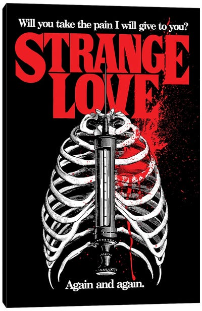 Strange Love Canvas Art Print