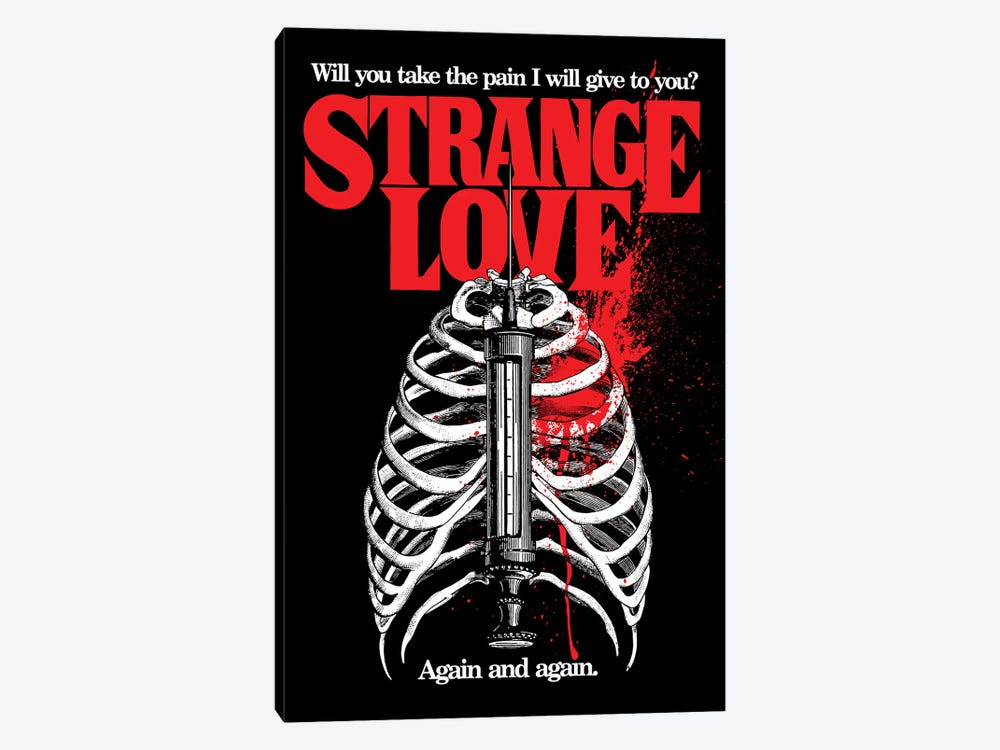 Strange Love 1-piece Canvas Wall Art