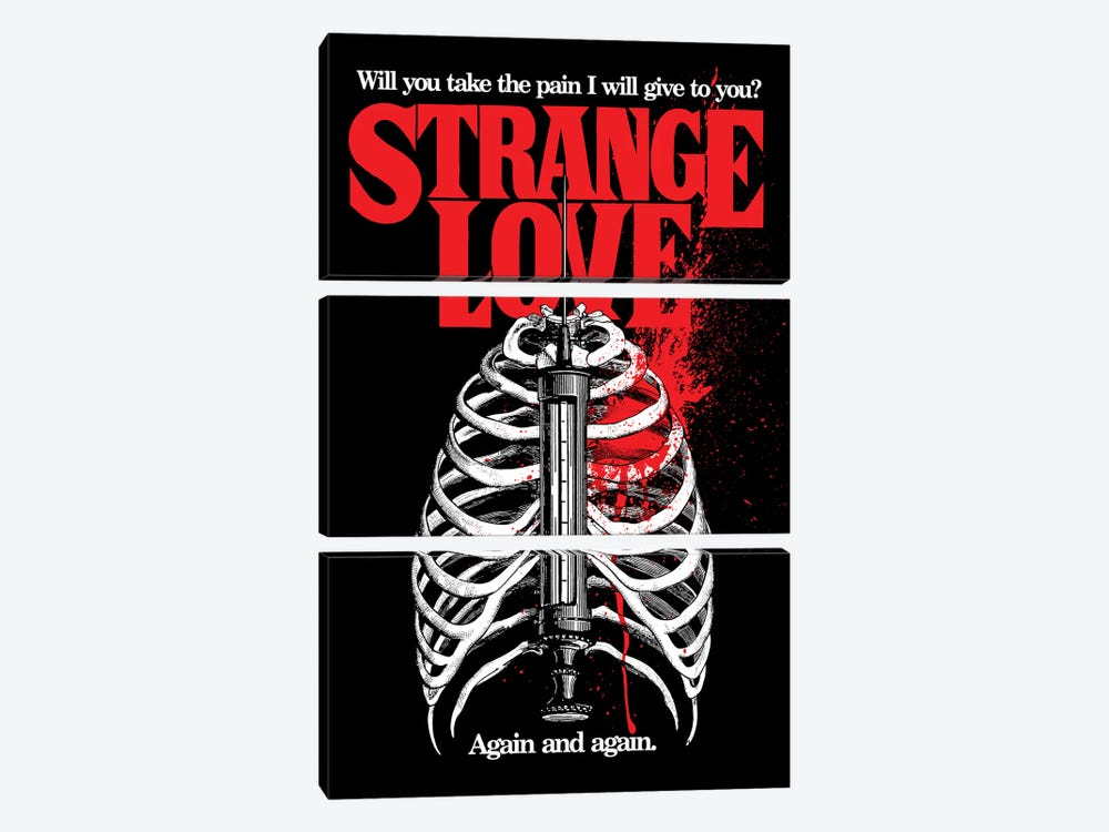 Strange Love by Butcher Billy 3-piece Canvas Wall Art
