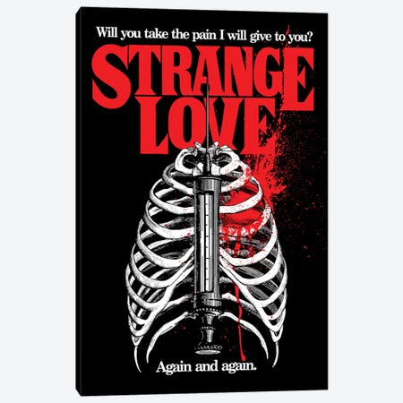 Strange Love Canvas Print #BBY245} by Butcher Billy Canvas Wall Art