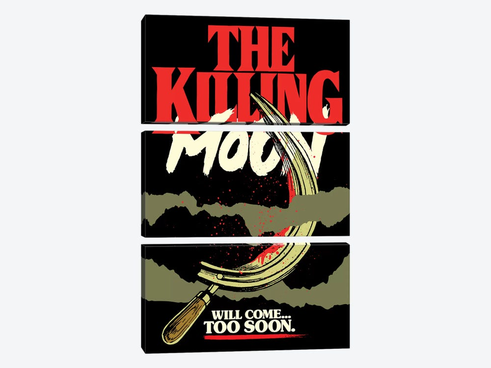 The Killing Moon by Butcher Billy 3-piece Art Print