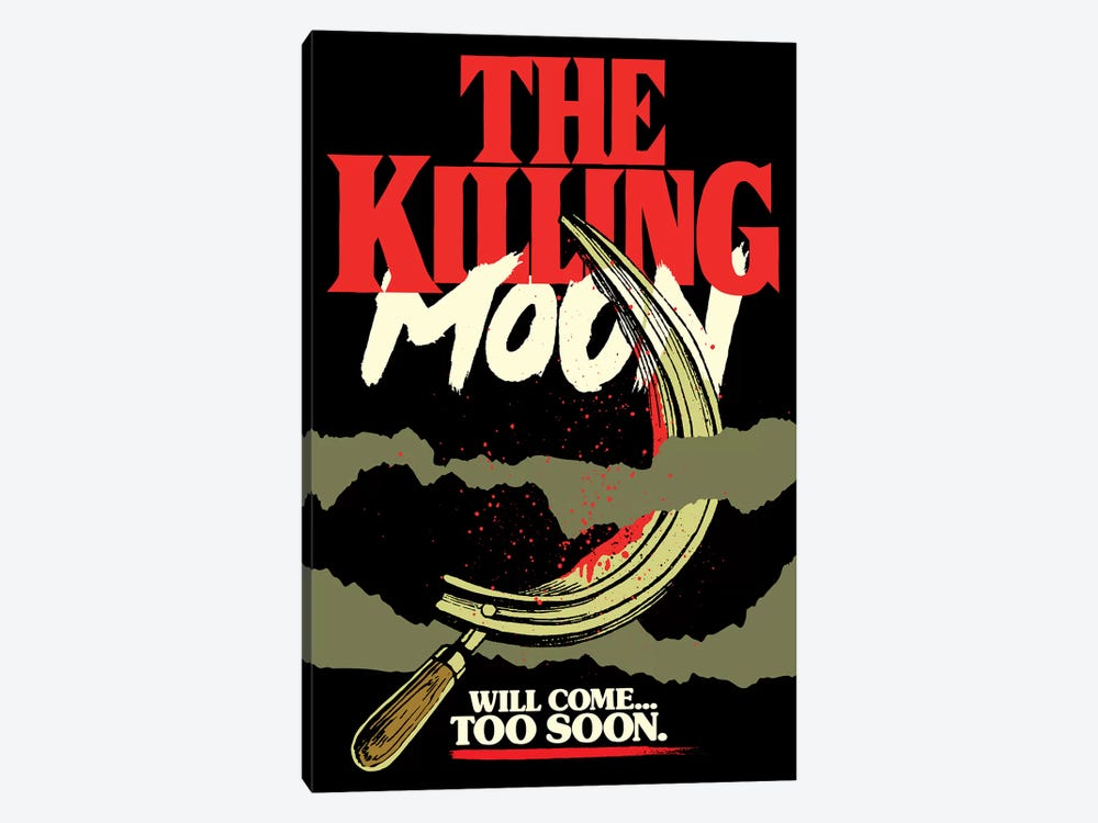 The Killing Moon by Butcher Billy 1-piece Canvas Print
