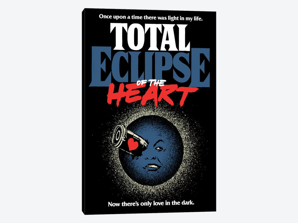 Total Eclipse Of The Heart by Butcher Billy 1-piece Canvas Art Print
