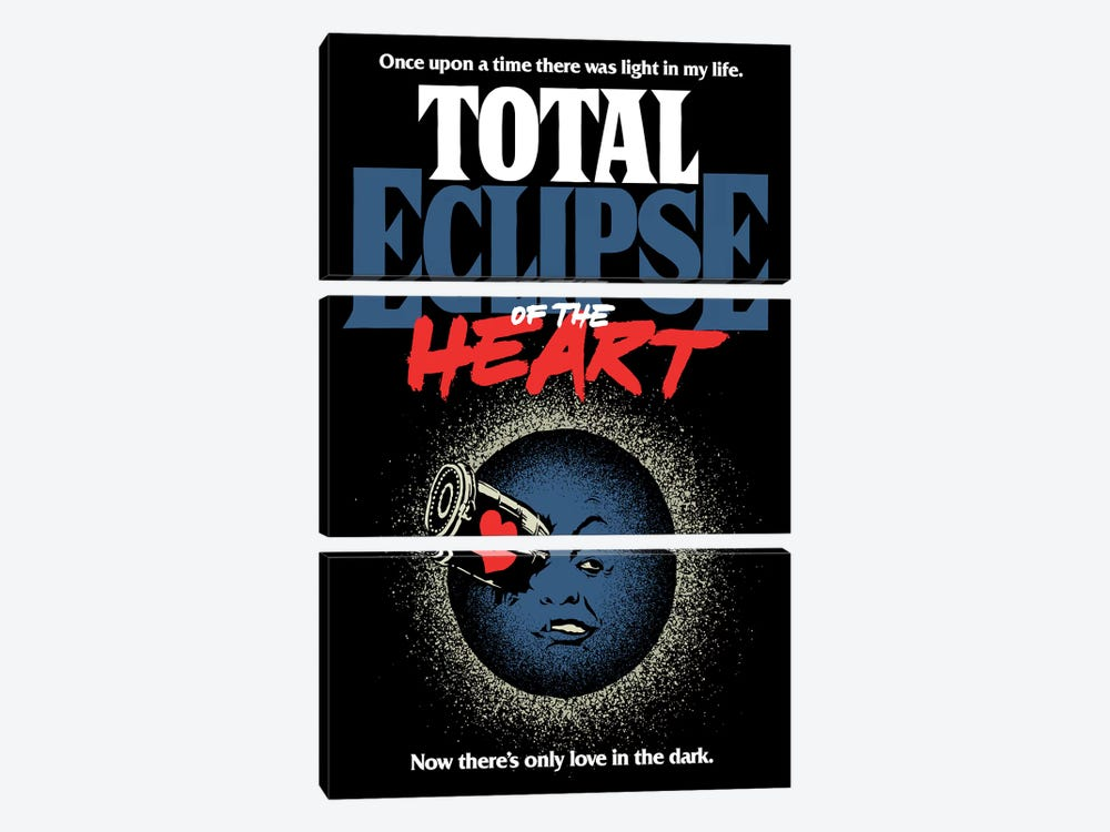 Total Eclipse Of The Heart by Butcher Billy 3-piece Art Print