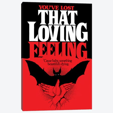 You've Lost That Loving Feeling Canvas Print #BBY250} by Butcher Billy Canvas Art