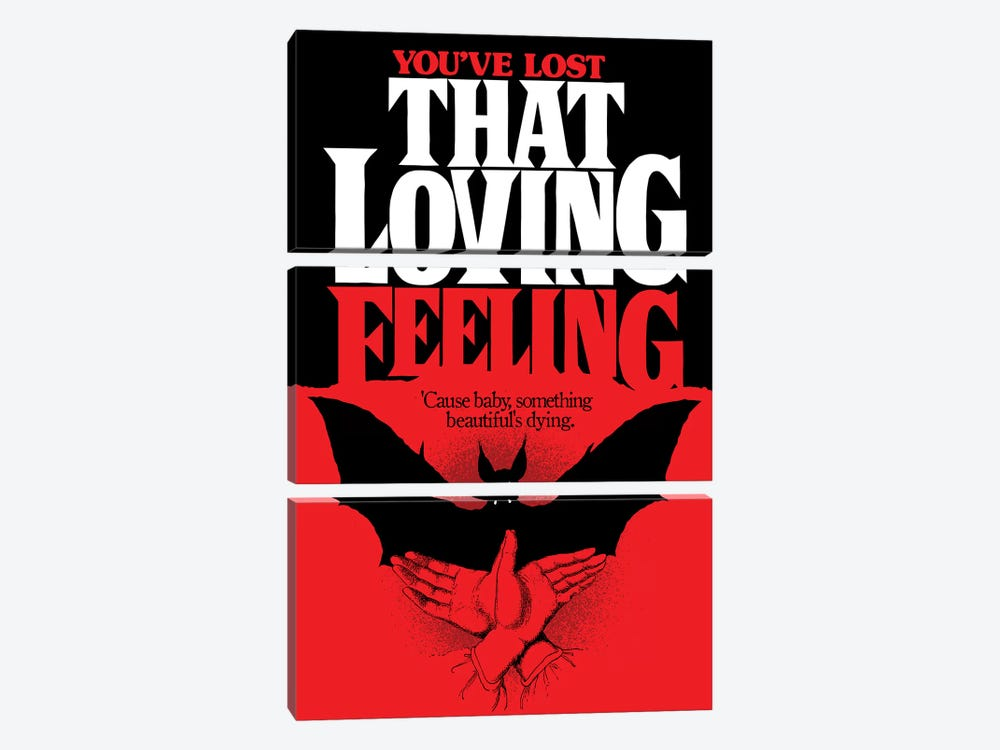 You've Lost That Loving Feeling by Butcher Billy 3-piece Canvas Artwork