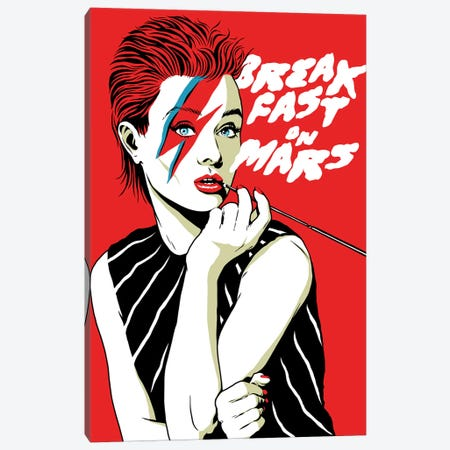 Breakfast On Mars Canvas Print #BBY253} by Butcher Billy Canvas Artwork