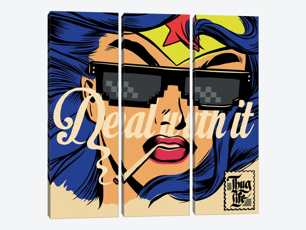 Deal by Butcher Billy 3-piece Canvas Print