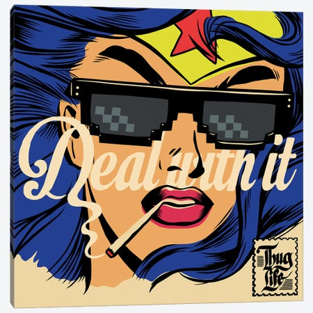Deal Canvas Print #BBY255} by Butcher Billy Art Print