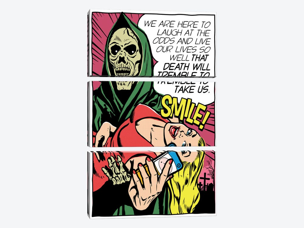 Death Will Tremble by Butcher Billy 3-piece Canvas Artwork