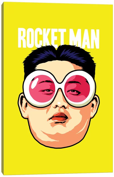 Rocket Man Canvas Art Print