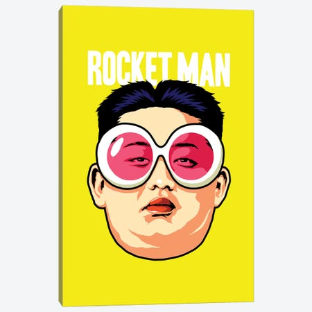 Rocket Man Canvas Print #BBY259} by Butcher Billy Canvas Artwork
