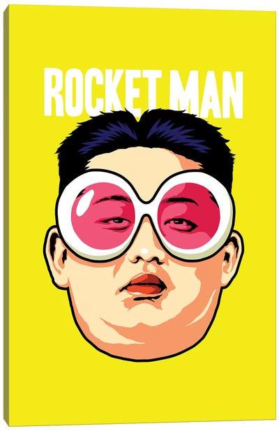 Rocket Man Canvas Art Print