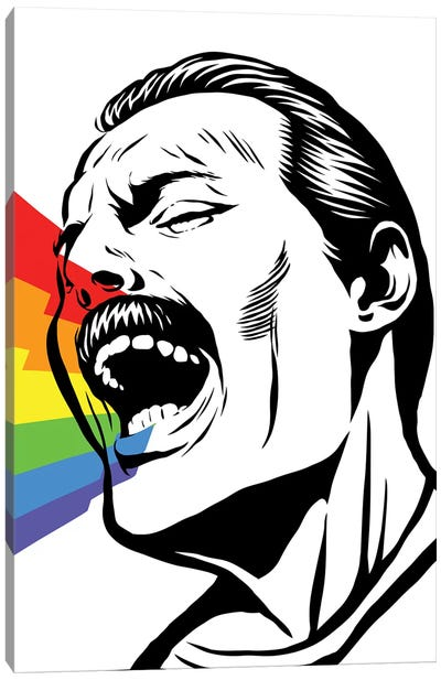Singing Rainbows Canvas Art Print