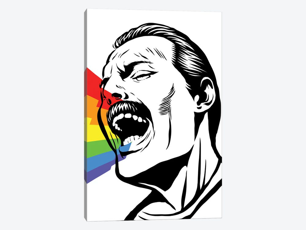 Singing Rainbows by Butcher Billy 1-piece Canvas Art Print