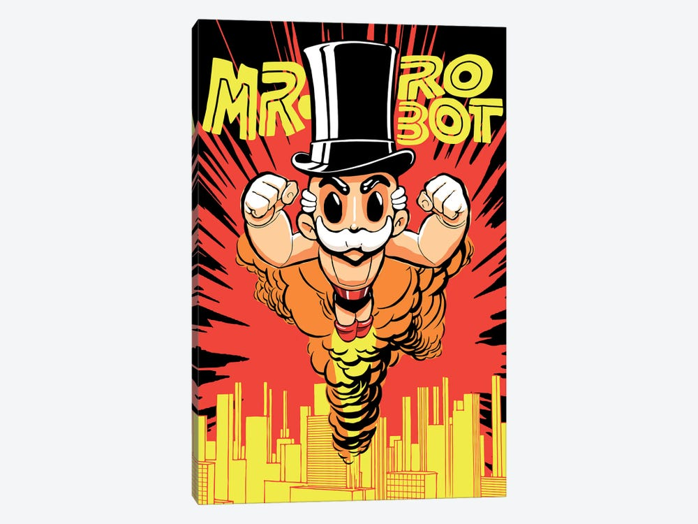 The Robots by Butcher Billy 1-piece Canvas Artwork
