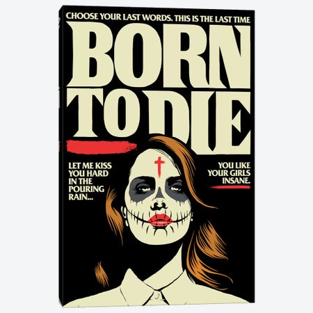 Born Canvas Print #BBY264} by Butcher Billy Canvas Art