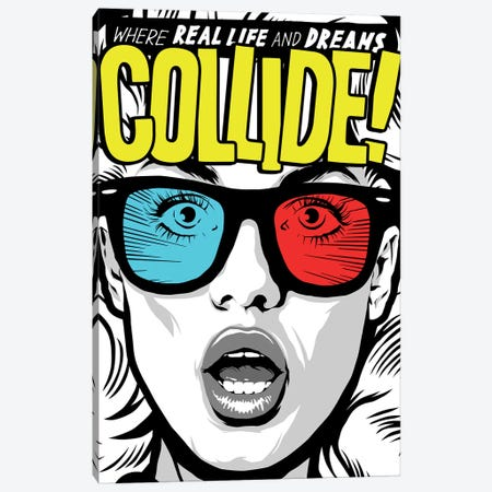Collide Canvas Print #BBY265} by Butcher Billy Canvas Art